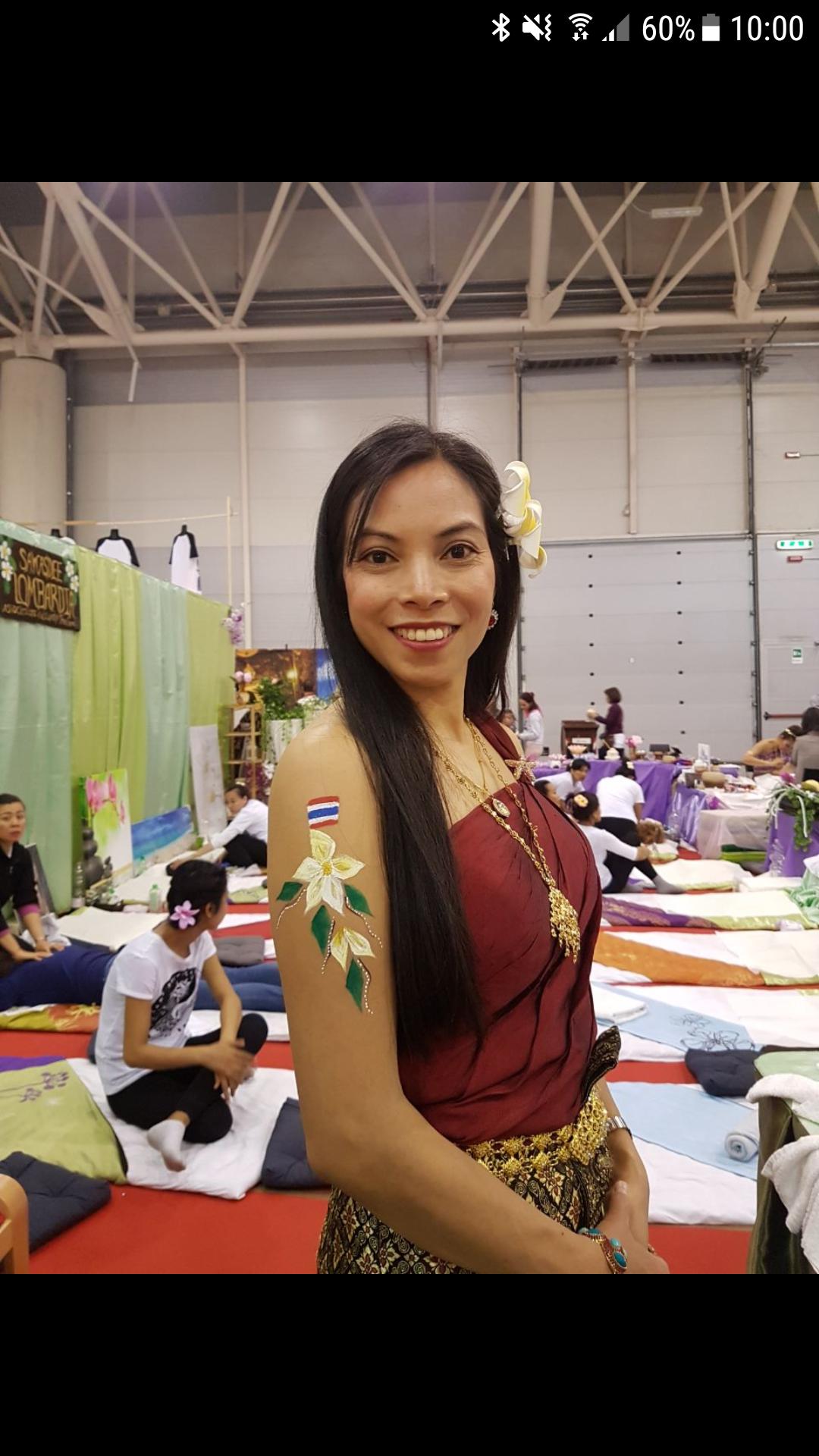 Thai massage nel mondo